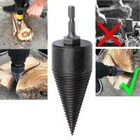 Professional Drill Bits Firewood Cutting Power Tool Bit Wood Splitter Screw Cones Splitting 32 42MM For Electric