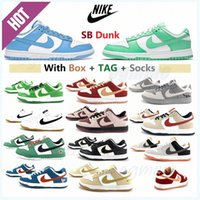 Com Caixa Classic Sombra Dunky Running Shoes Travis Scotts Dunk Civil Viotoech Plum Pigeon Plataforma Férias Especiais Homens Mulheres Mulheres Sneakers Loaw #