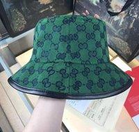 الصيف ماركة مصمم كاب رجل دلو واسعة بريم الأزياء صياد الرجال النساء تركيب قبعات عالية الجودة شبكة الشمس قبعات