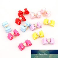 PipiFren Small Dogs Grooming Bows Hair Accessories Yorkshire terrier For Pets Product kokardki dla psa