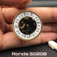 Repair Tools & Kits 5020.B 5020B Original Swiss Parts Golden Mechanism Replacements Top Brand Watch Movement 10 Jewels Ronda Quartz