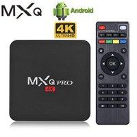 MXQ PRO 4K Android TV BOX RK3229 Quad Core TVbox 1G 8G 2.4G Wifi 4K 3D Smart TV Android 7.1 TV BOX MXQ PRO 4K Sep Top Box