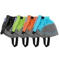 زوج قصيرة الأحذية gaiter فائقة ضوء الكاحل المغلفة النايلون المشي الغلاف التزلج في الهواء الطلق تسلق الساق الجرماء ذراع تدفئة
