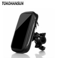 Waterproof Bag Motorcycle Phone Holder 360 Mount in Bike Stand Support Mobile Cell Cellphone Smartphone For iPhone X Max Xiaomi