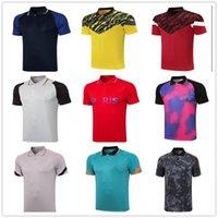 Erkekler Futbol Polo20 22 Gerçek Madrid Polo Gömlek Yüksek Kaliteli Futbol Forması Eğitim Rahat T-Shirt