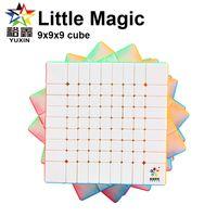 Yuxin Little Magic 9x9x9 Speed Cube Stickerless Zhisheng 9x9 Puzzle Cubes Cubo profesional Juguetes educativos para niños