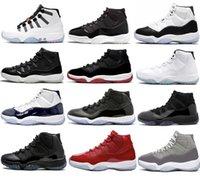 2021 libération authentique 11 chaussures Jubilee Space confiture 45 Concord gamma bleu Adapter le capuchon auto-laçage et la gaine de gymnase de gymnase de gymnase rouge femmes Sports de sport avec boîte