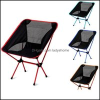 Patio Benches Furniture Home & Gardenrts Outdoor Fold Beach Cam Fishing Courtyard Aluminum Bbq Folding Chair Fast Drop Delivery 2021 Yvn