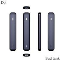 D9 Vaporizer Starter Kit Empty Disposable Vape Pen Cigarettes 0.5ml Atomizer Bud tank Rechargeable 280mah Battery Allow Customize