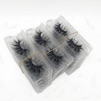 False Eyelashes Wholesale Item Real 3D Mink Cruelty Free 100 Pairs Handmade Makeup Beauty Nature Thick Dramatic Lash Vendors Reusable