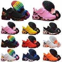Mercurial Plus Tn niños pequeños de diseño Mercurial TN Transpirable tn Plus Rainbow Mesh Running Sneakers tns children pour enfants Entrenadores deportivos atléticos