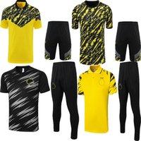21 22 Borussia Dortmund Soccer Jersey Tracksuit Kits بولو شيرت Reus خاص Piszczek Neongelb Hummels Brandt 2021 2022 Survetement
