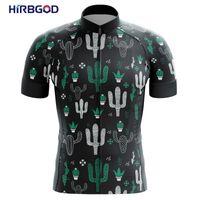 Гоночные куртки Хирбгод для Мексики Зеленый Белый Кактус Велоспорт Одежда Мужчины Легкий Велосипед Велосипед Носить Спортивная одежда с коротким рукавом, Tyz794-0