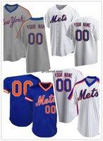 مخصص 12 Francisco Lindor Ny Mets Jersey 48 Jacob Degrom 20 بيت Alonso Darryl الفراولة البيسبول الفانيلة من Probowl S-4XL