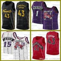Pascal 43 Siakam TorontoRapacesJerseys Tracy 1 McGrady Basketball Vince 15 Carter Ja 12 Jersey Jerseys John 1 Wall Basketball