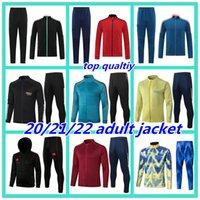 Mens 20/21 arsenal Soccer Tarcksuit Football Jacket 2020 2021 Camiseta de futbol Maillot de pied de foot