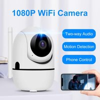 Cameras 1080P Full HD Indoor WiFi Security Camera 2MP Pan Tilt Wireless IP Surveillance Nanny Cam With Auto Tracking IR Night