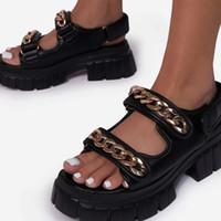 Summer 2021 Fashion Women's Sandals Casual Platform Shoes for Ladies Design Outdoor Beach Shoe Plus-size 36-43
