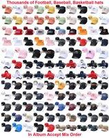Buona qualità Ball Squadra Snapback Cappello da baseball Baseball Cappelli da baseball Cappelli regolabili Cappellini Sport-Caps Uomo Donne Unisex