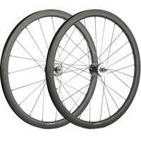 Rodas de bicicleta 700C Carbono 38mm de engrenagem fixa Row Wheelset com Hub Novatec