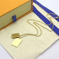 스탬프가있는 패션 목걸이 여성 망 파티 연인 선물 힙합 보석 상자