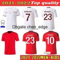 2021 2022 Швейцария Футбол Футбол Фубович 21 22 Униформа Эльведи Аканджи Родригес Закария Эмболая Бехрами Шакири Футбол