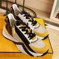 Hombres Sneakers Zapatillas de deporte Confort Nylon Suede Casual Women Sports Cremallera Rubjetivo Runner Sole Tech Telas Trainer al aire libre