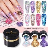 Nail Gel BORN PRETTY Shining Polish Glitter Sequins Manicure Soak Off UV Semi-permanent Varnish Glow In The Dark Art