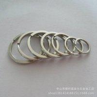 스테인리스 304 스테인레스 스틸 플랫 소형 액세서리 열쇠 고리