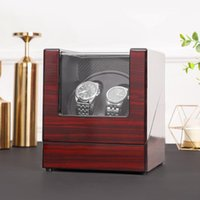 Watch Boxes & Cases 2+0 Wooden Automatic Winder Holder Display Jewelry Mechanical Motor Shaker Winding Box High Class Storage Organizer