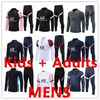 2122 Cousssuit p трекиистые футбольные тренировочные костюмы Kit Chandal Futbol Детские мужчины мальчики мужская куртка тута набор набор футбол для футбола Джерси