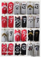 """2021 2022 Mens Toronto""""Raptors""""Basketball jerseys Pascal 43 Siakam Kyle 7 Lowry Throwback""""Nba""""jersey Fast delivery purple black Red"""