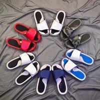 nike air jordan retro flip flop sandals 2021 Estate di alta qualità Uomo Donna Pantofole Sandali Scarpe Designer Piattaforma Basket Skateboard Moda Infradito