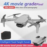 E88 Mini RC DRONE FOLDING AERIALPHOTION 4K HD-Kamera High-Alt-Hold WiFi-Bildübertragung RC Quadcopter für Anfänger