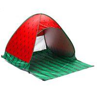 Outdoor 2-3 Persone Tenda automatica Pop-up Tenda Impermeabile Spiaggia UV Sfondo Sfondo da parasole Camping Popolare Pop-up Spiaggia all'aperto Beach Party Camping Tenzina