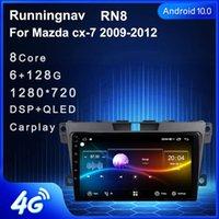 플레이어 4G LTE 안드로이드 10.1 CX-7 CX7 CX 7 2008-2021 멀티미디어 스테레오 자동차 DVD 네비게이션 GPS 라디오
