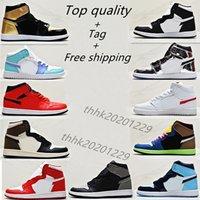 Erkek Ayakkabı 1 1 S Erkek Sneakers Kadın Spor Ayakkabı Dantel-Up Ayakkabı Deri Adam Bayan Sneaker Basketballshoes En Kaliteli Boyutu US12 US13 EUR36-47