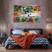 Uçmak ev dekor büyük yağlıboya tuval üzerine handpainted HD baskı duvar sanatı resimler özelleştirme kabul edilebilir 21050302