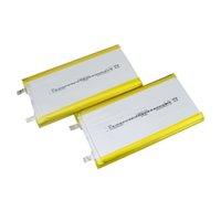 새로운 배치 1260110 NMC 파우치 리튬 이온 Lipo 배터리 셀 3.7v 8000mah 100000mAh 2C 태양 전원 led 트래픽 징후 / 전원 은행 / LED 빛 / 램프 상자 / lamphouse