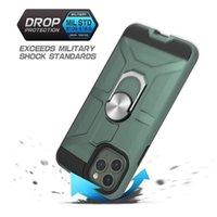 유행 공기 안티 슬립 자동차 링 자석 브래킷 갑옷 케이스 아이폰 12 Pro 11 Pro Max XR 8 Plus X XS Max