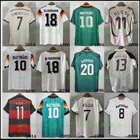 1990 1992 1994, 1998, 1988 Deutschland Retro Littbarski Ballack Fussball Jersey Klinsmann Matthias Home Shirt 2006 Kalkbrenner Classic Unifom