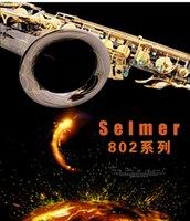 جودة عالية Selmer 802 ساكسفون B-flat أسود ساكس تينور لسان حال الرباط القصب الرقبة الملحقات الموسيقية