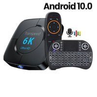 Smart Android 10.0 TV BOX 6K Youtube Voice Assistant 3D 4K 1080P Video Receiver Wifi 2.4G&5.8G TV-Box Set top Boxes
