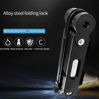 Golf Training Aids WHEEL UP Bike Lock Professional Anti-Theft Foldable Bicycle With Keys For MTB Road Fold