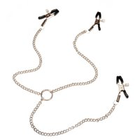 yutong naturey flirt Nipple Clamps Labia Breast With Chain Clips Slave Bdsm Fetish Erotic Toys nature Tool For women Adult Game