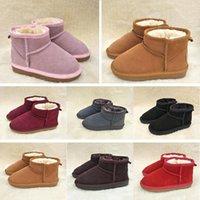熱い販売ブランド子供女の子のブーツの靴冬の暖かい幼児男の子子供の雪の子供たちの豪華なUCC