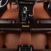 Tapis de plancher de voiture personnalisé pour Volvo Tous les modèles S60 S80 C30 XC60 XC90 S90 S40 V40 XC-Classi Accessoires auto J JYU