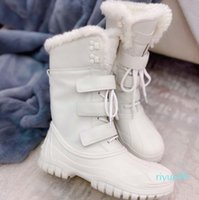 2021 Women Designer Ankle Martin Boots and Nylon military inspired combat bouch attached size 35-40