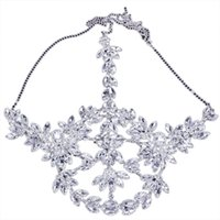 Steampunk Crystal Face Mask Rave Music Festival Hair Ornaments Rhinestone Jewellery Imitation Diamond Facial Shield