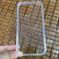 1.0MM Clear Hard PC Acrylic Soft TPU Cases For Iphone 13 Pro Max 12 Mini 11 X XR XS 8 7 6 Plus Phone13 Transparent Shockproof Plastic Silicone Phone Covers Anti Shock Skin